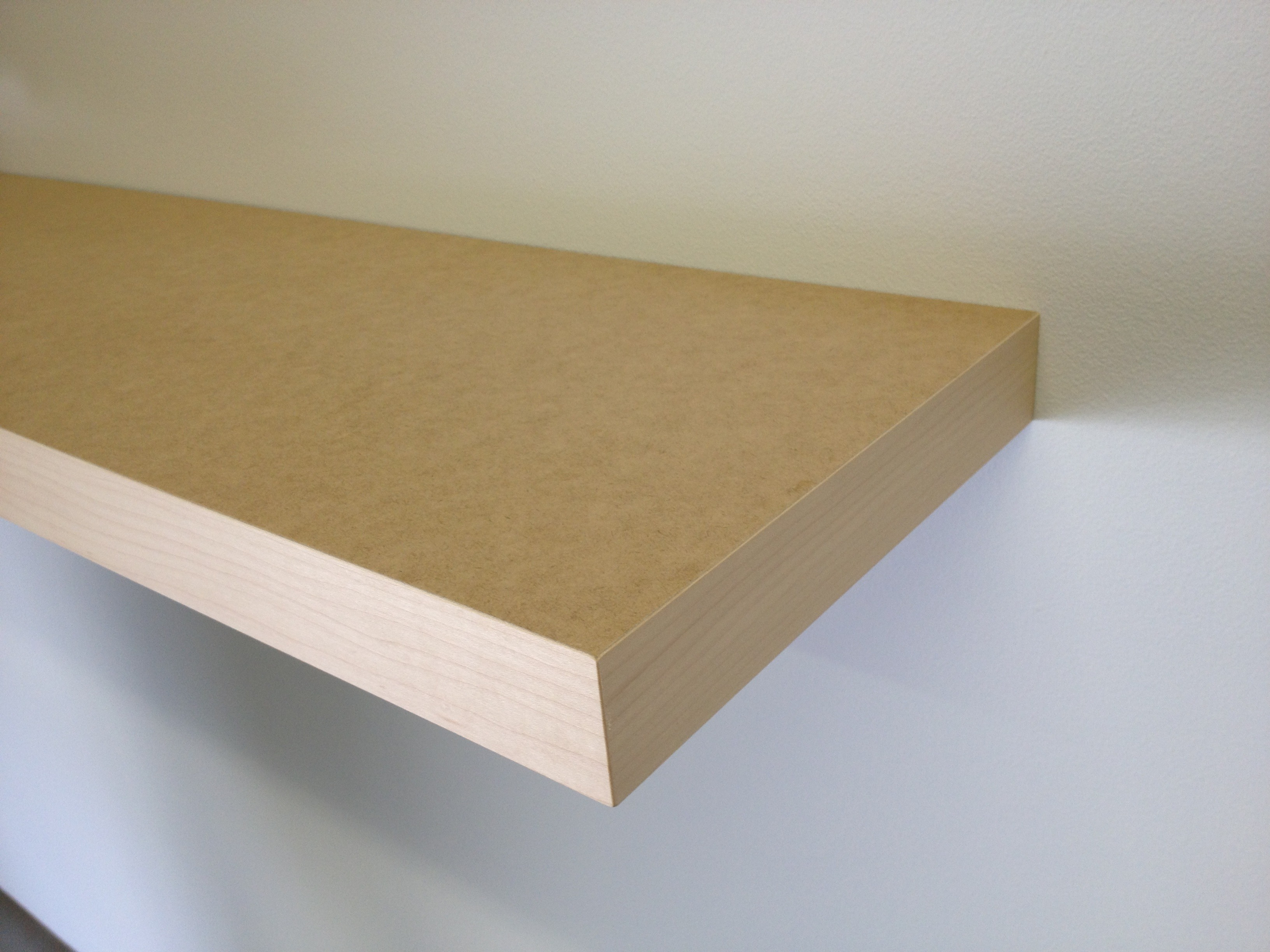 U-Paint MDF Floating Shelves
