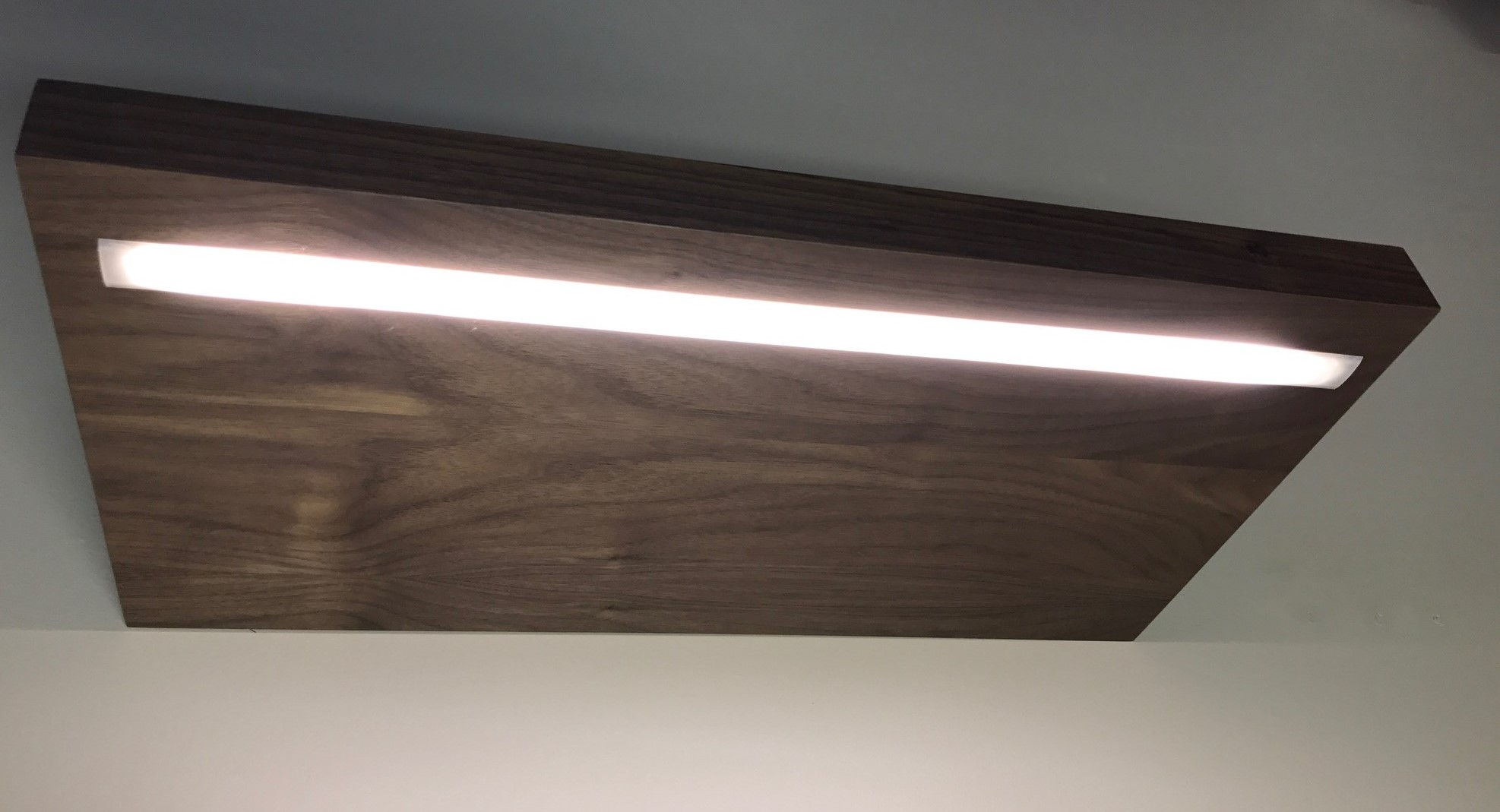 LED Lighting Options For Custom Floating Shelves